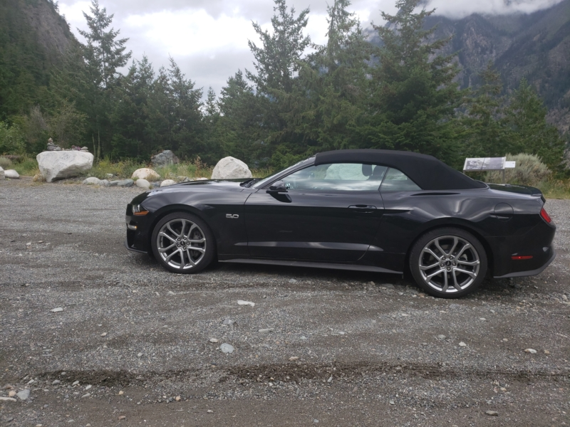 National Car Rental - Mustang Convertible Regular Aisle